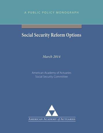 Soc-Sec-Reform-Options_Monograph_03-03-2014