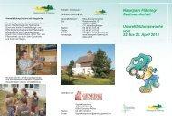 Flyer zum Dowload - Naturpark-Fläming