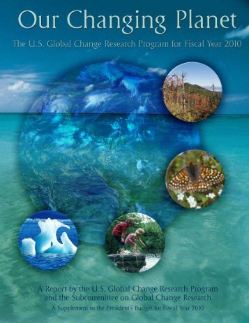 the us global change research program for fy 2010
