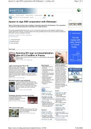 Apacer to sign SSD cooperation with Diskeeper Sanmina-SCI sign ...