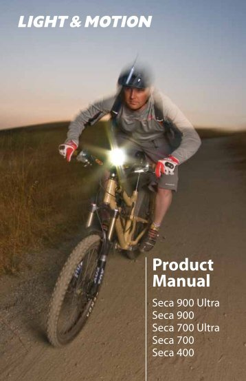 Product Manual - Light & Motion