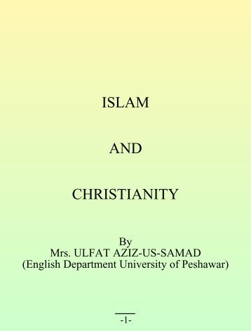 ISLAM AND CHRISTIANITY - World Of Islam Portal