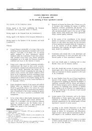 Council Directive 1999/105/EC - EUR-Lex