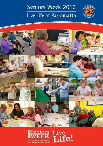 Seniors Week 2013 Calendar - Parramatta City Council - NSW ...