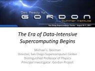 Era of Data Intensive Supercomputing Begins - SDSC Education ...