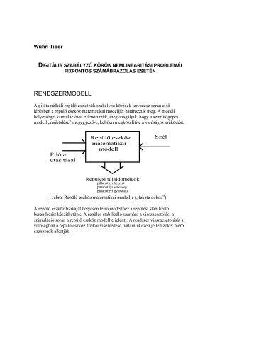 Digitális szabályozó körök nemlineáris problémái, fixpontos ...