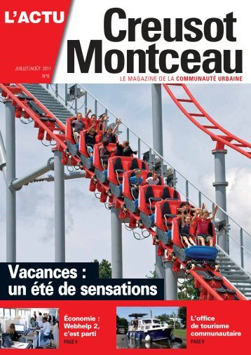 Impression : BLG Toul. Distribution - Creusot-Montceau TV