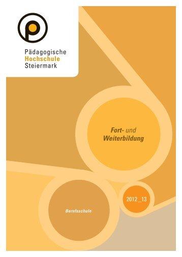 Berufsschule - Pädagogische Hochschule Steiermark