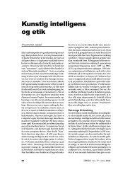 Kunstig intelligens og etik - Skabelse.dk