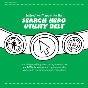 How to be a Search Hero Marketer (PDF
