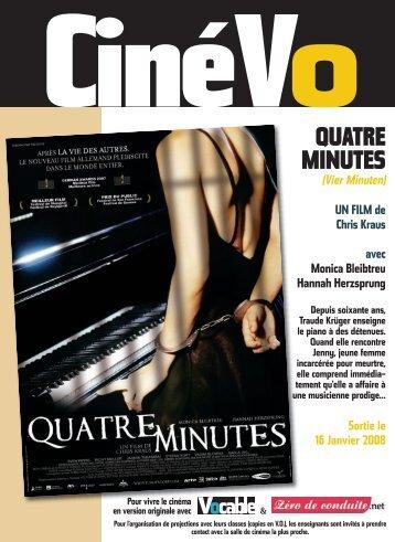 Vier Minuten - Allemand