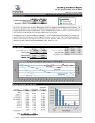 Quarterly Investment Report - Chelan County Public Utility District