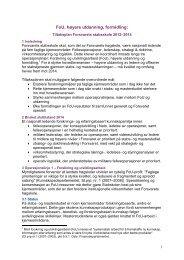 FoU-strategi for Forsvarets stabsskole (FSTS) 2012-2014 (pdf)
