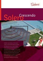 folder Crescendo - Solero Parasols