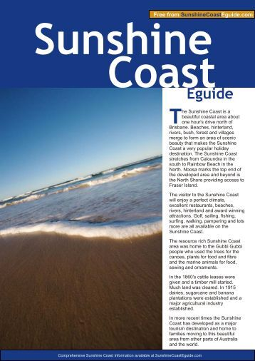 Sunshine Coast - Australia Travel Guide