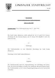 Nr.iii/5 . S a t z u n g für die Volkshochschule Lindau (Bodensee ...