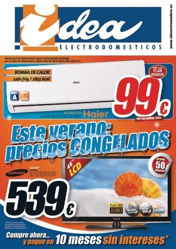 y pague en 10 mesessin intereses* - Idea Extremadura
