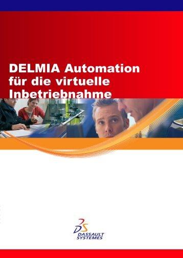DELMIA Automation für die virtuelle Inbetriebnahme