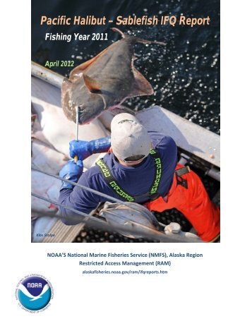 Pacific Halibut-Sablefish IFQ Report - National Marine Fisheries ...