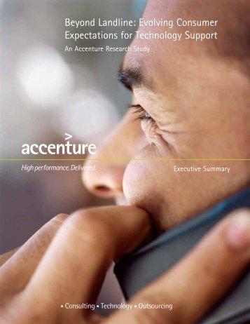 Beyond Landline: Evolving Consumer Expectations for Technology ...