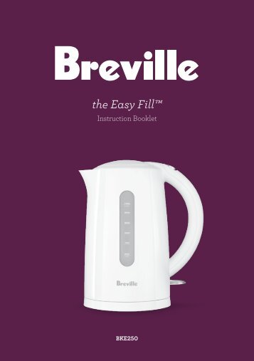 the Easy Fill™ - Breville