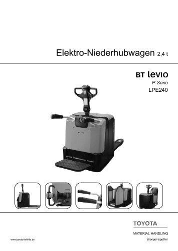 Elektro-Niederhubwagen Levio LPE240 - Toyota Material Handling