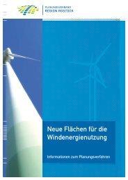 Neue Flächen für die Windenergienutzung - Wind energy in the ...