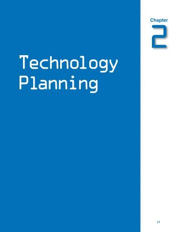 Chapter 2: Technology Planning - SouthEast Initiatives Regional ...
