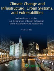 Climate Change and Infrastructure, Urban Systems, and ...