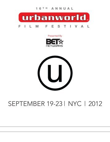 Program Guide PDF - Urbanworld Film Festival