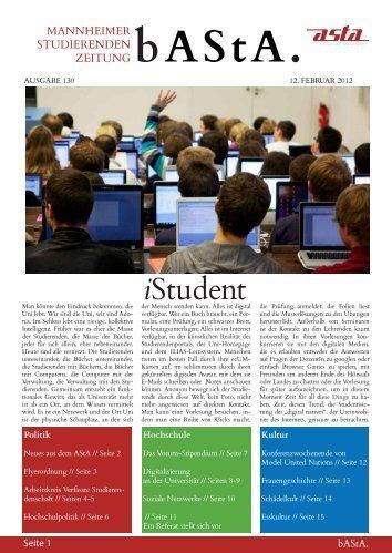 iStudent - AStA - Universität Mannheim