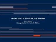 Frankfurt 2009 Lernen mit web20 -Prof_Moser