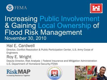 Presentation - Flood Risk Management Program