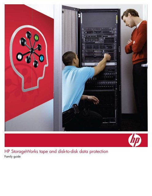 HP StorageWorks tape and disk-to-disk data protection - Avnet ...