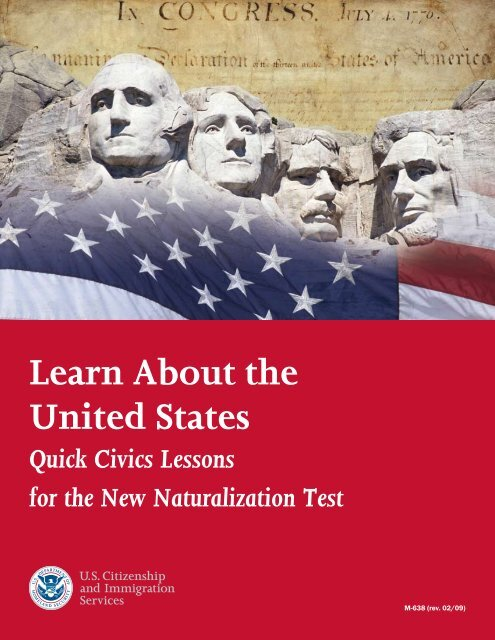 Learn About the United States