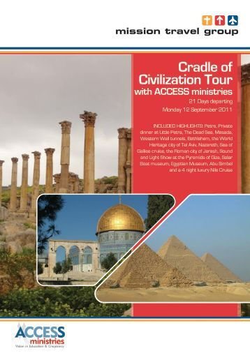 Cradle of Civilization Tour with ACCESS ministries - Mission Travel