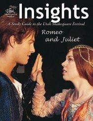 Romeo and Juliet - Utah Shakespearean Festival