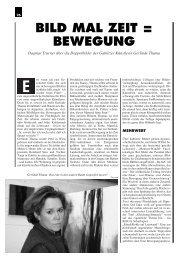 BILD MAL ZEIT = BEWEGUNG - Gerlinde Thuma