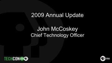 from John McCoskey - PBS