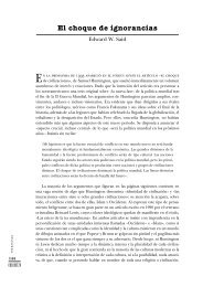 El choque de ignorancias - cubaencuentro.com