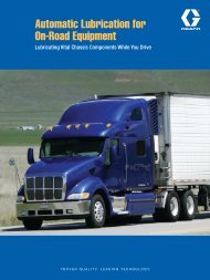 Automatic Lubrication for On-Road Equipment - Graco Inc.
