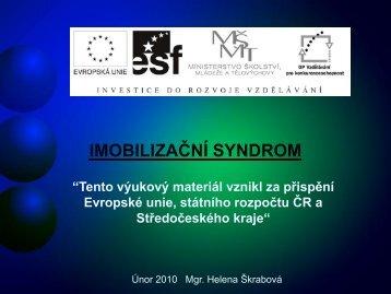 Imobilizační syndrom