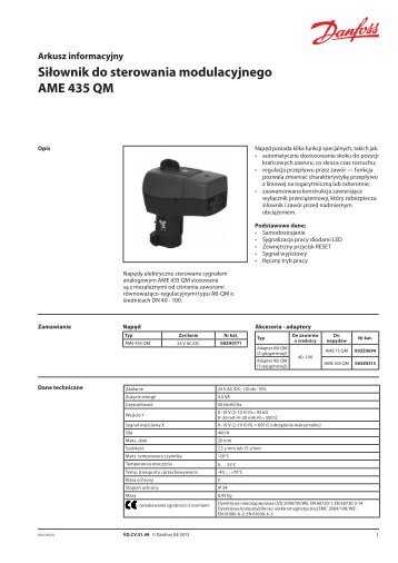 AME 435QM - Danfoss