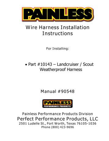 painless wiring manual 90501 painless image wiring 8 circuit universal remote mount modular harness painless wiring on painless wiring manual 90501