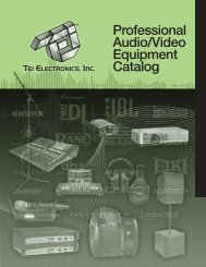 Download now! - TEI Electronics Inc
