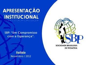 veja aqui a versão em pdf - Sociedade Brasileira de Pediatria