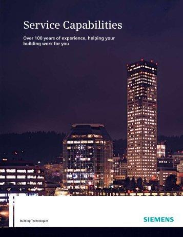 Service Capabilities - Siemens