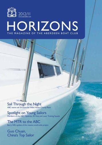 Nov 2012 Issue - the Aberdeen Boat Club