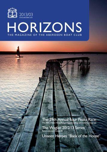 Mar 2013 Issue - the Aberdeen Boat Club