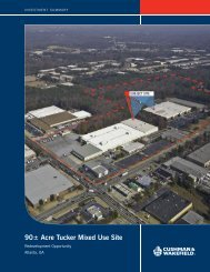 90 Acre Tucker Mixed Use Site